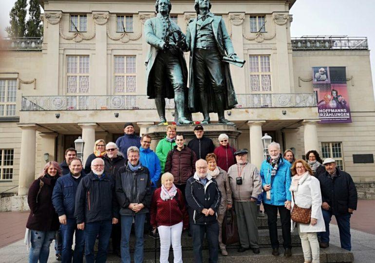 Ausflug nach Weimar /Erfurt